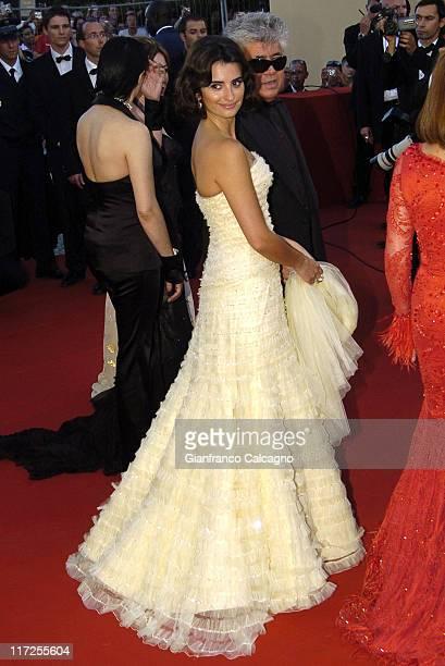 Penelope Cruz during 2006 Cannes Film Festival Volver Premiere at Palais du Festival in Cannes France