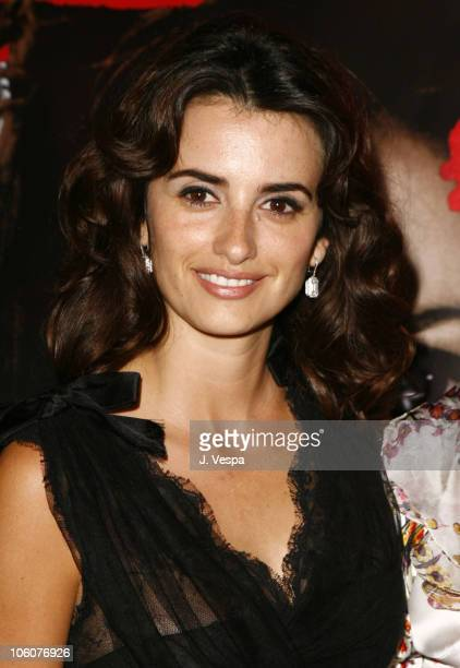 Penelope Cruz during 2006 Cannes Film Festival Volver Premiere Dinner at Noga Beach in Cannes France