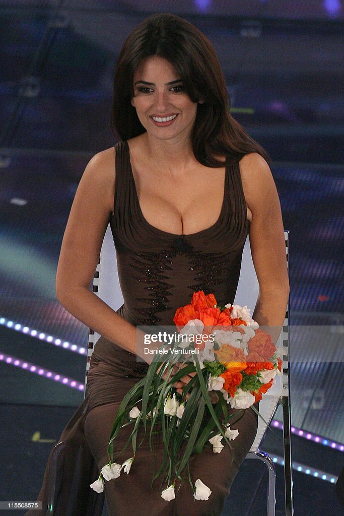Penelope Cruz during 57th San Remo Music Festival - Day 4 in Sanremo, Italy.