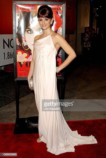 Penelope Cruz during AFI Fest 2006 Presented by Audi Hosts a Tribute to Penelope Cruz and a Presentation of Volver at ArcLight Theater in Hollywood...
