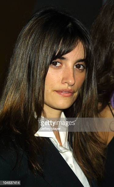 Penelope Cruz during 'Amores Perros' Premiere at Galaxy Theatre in Hollywood California United States