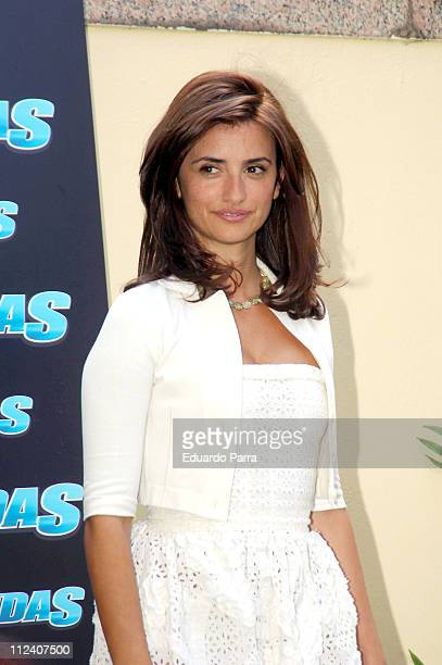 "Penelope Cruz during ""Bandits"" Photocall with Penelope Cruz at Villamagna Hotel in Madrid, Spain."