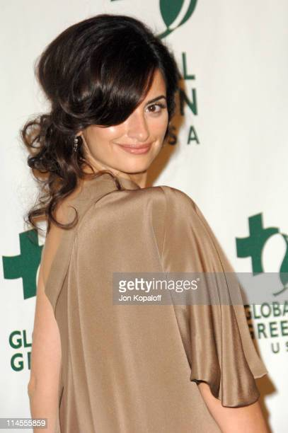 Penelope Cruz during Global Green USA 2007 PreOscar Celebration to Benefit Global Warming Arrivals at The Avalon in Hollywood California United States