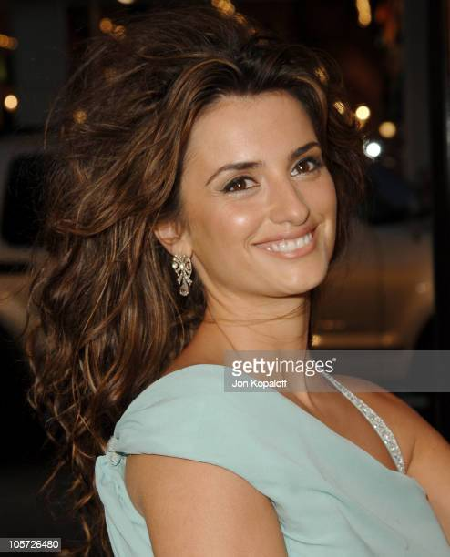 Penelope Cruz during Sahara Los Angeles Premiere Arrivals at Grauman's Chinese Theater in Hollywood California United States