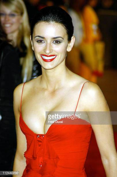 Penelope Cruz during 'The Last Samurai' London Premiere Arrivals at Odeon Leicester Square in London Great Britain