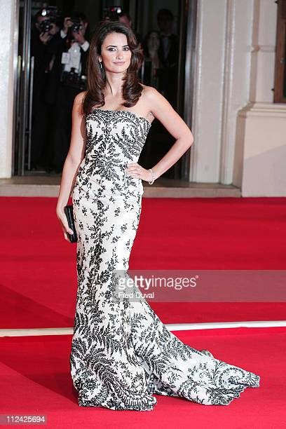 Penelope Cruz during The Orange British Academy Film Awards 2007 Red Carpet Arrivals at Royal Opera House in London Great Britain