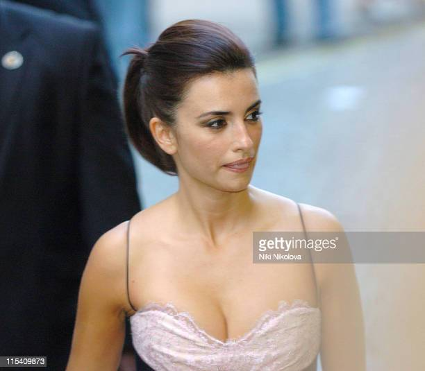 Penelope Cruz during Volver London Premiere Outside Arrivals at Curzon Mayfair in London Great Britain