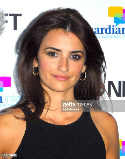 Penelope Cruz during Volver Photo Call at The National Film Theatre August 4 2006 at Pedro Almodovar in london United Kingdom