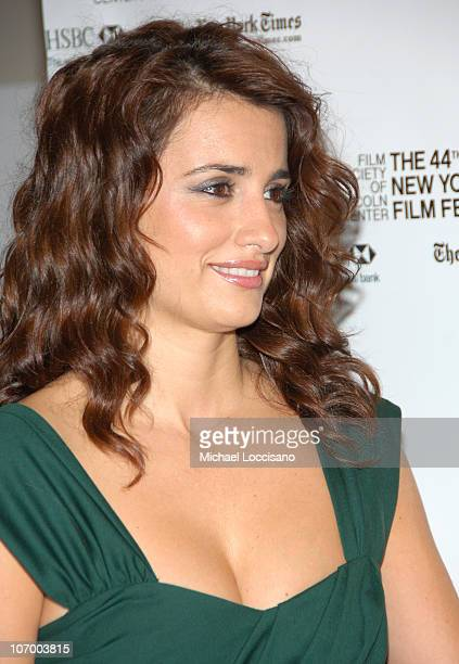 Penelope Cruz during Volver Press Conference with Penelope Cruz and Pedro Almodovar Hosted by the New York Film Festival at Walter Reade Theatre...