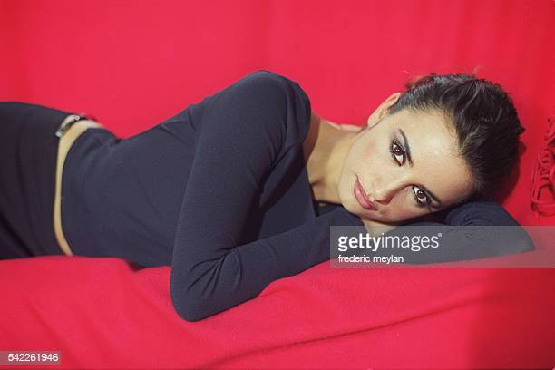 Penelope Cruz Lying Down