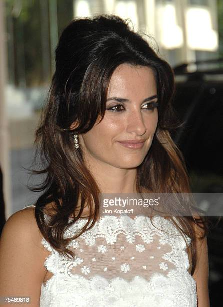 """Penelope Cruz, nominee Best Actress in a Leading Role for """"Volver"""" at the 79th Annual Academy Awards Oscar Luncheon - Outside Arrivals at Beverly..."""