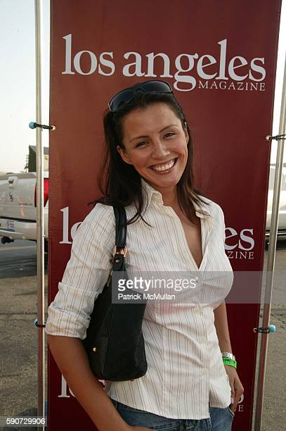 Penelope Jimenez attends CONCERN Foundation's 31st Annual Block Party at A 'Western' back lot at Paramount on July 16 2005