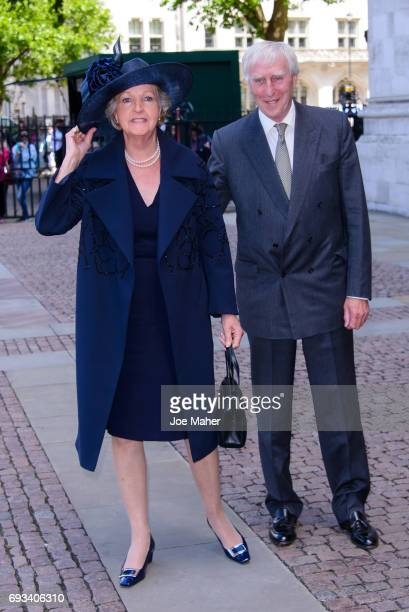 Penelope Keith attends a memorial service for comedian Ronnie Corbett at Westminster Abbey on June 7 2017 in London England Corbett died in March...