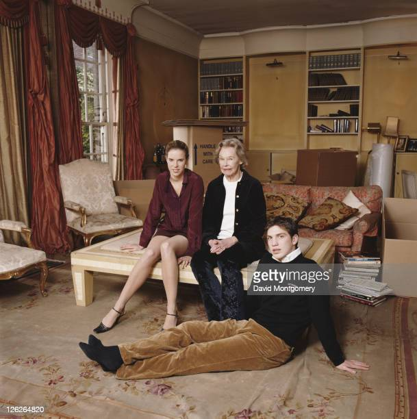 Penelope Lady Aitken with two of her grandchildren Alexandra and William Aitken circa 2000 Lady Aitken is the mother of former Conservative MP...
