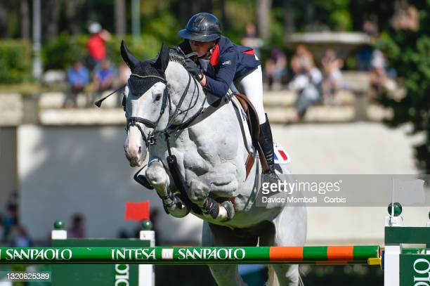 "Penelope Leprevost FRA riding Gfe Excalibur de La Tour Vidal during competition Rolex CSIO 5* Roma Master D""u2019Inzeo, Nations Cup Intesa Sanpaolo..."