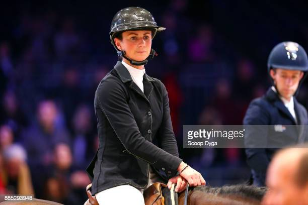 Penelope LEPREVOST of France during the Longines Grand Prix of the Longines Masters Paris on December 3 2017 at Paris Nord Villepinte in Paris France