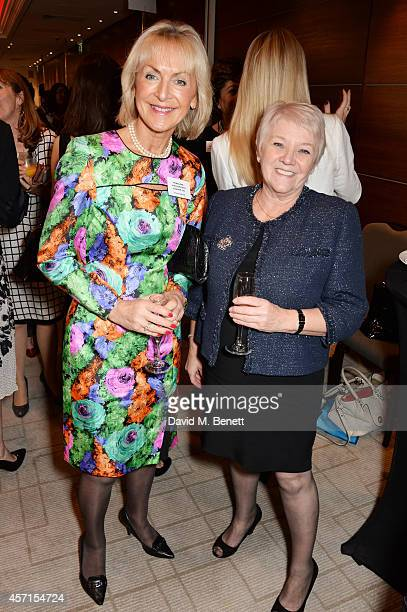 Penelope Lyttelton Viscountess Cobham attend The 59th Women of the Year Lunch at the InterContinental Park Lane Hotel on October 13 2014 in London...