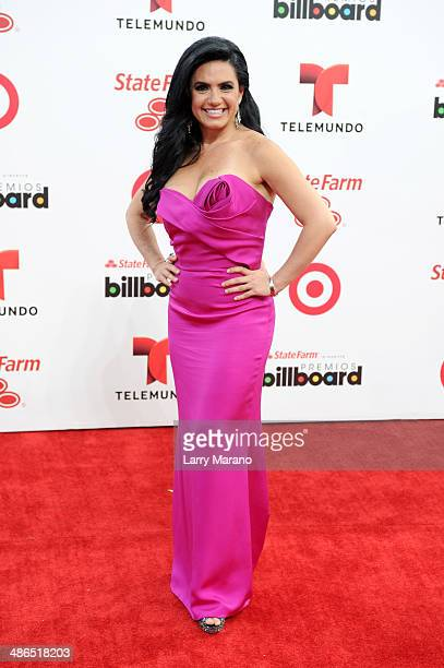Penelope Menchaca attends the 2014 Billboard Latin Music Awards at Bank United Center on April 24 2014 in Miami Florida