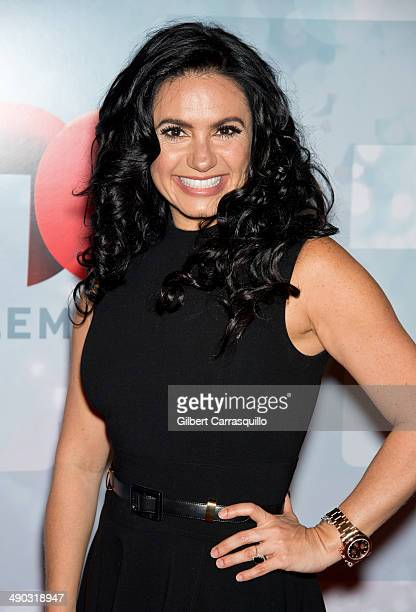 Penelope Menchaca attends the 2014 Telemundo Upfront at Frederick P Rose Hall Jazz at Lincoln Center on May 13 2014 in New York City