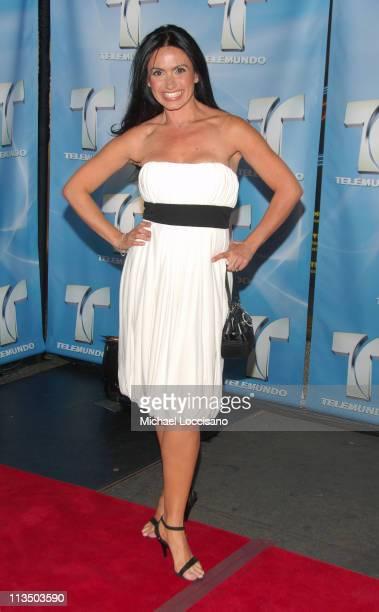 Penelope Menchaca during 2007 Telemundo Upfront at Radio City Music Hall in New York City New York United States