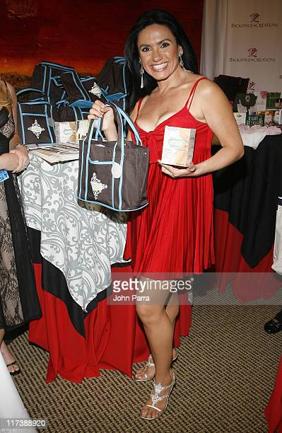 Penelope Menchaca during Billboard Latin Music Conference and Awards 2007 Backstage Creations Gift Suite Day 2 at Bank United in Coral Gables Florida...