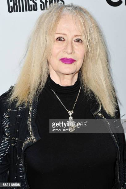 Penelope Spheeris arrives at the Premiere of 'SHOT The PsychoSpiritual Mantra of Rock' at Pacific Theatres at The Grove on April 5 2017 in Los...
