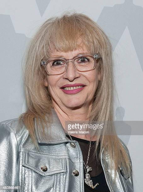 Penelope Spheeris attends The Academy Of Motion Picture Arts And Sciences' Screening Of The Decline Of Western Civilization Part II The Metal Years...