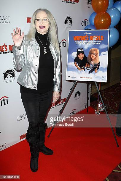 Penelope Spheeris attends the Wayne's World 25th Anniversary Panel Discussion at Pacific Theaters at the Grove on January 9 2017 in Los Angeles...