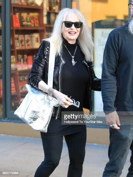 Penelope Spheeris is seen on April 5 2017 in Los Angeles CA