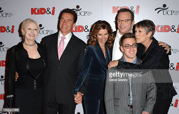 Penelope Spheeris Maria Shriver Tom Arnold Governor Arnold Schwarzenegger and Jamie Lee Curtis Eric Gores