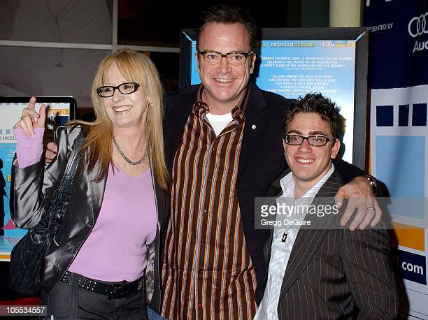 Penelope Spheeris Tom Arnold and Eric Gores during AFI FEST 2005 presented by Audi The Kid I Screening Arrivals at ArcLight Hollywood in Hollywood...
