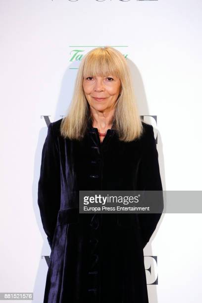 Penelope Tree attends the gala dinner tribute to Manolo Blahnik on the ocassion of the exhibition 'Manolo Blahnik El Arte del Zapato' on November 28...