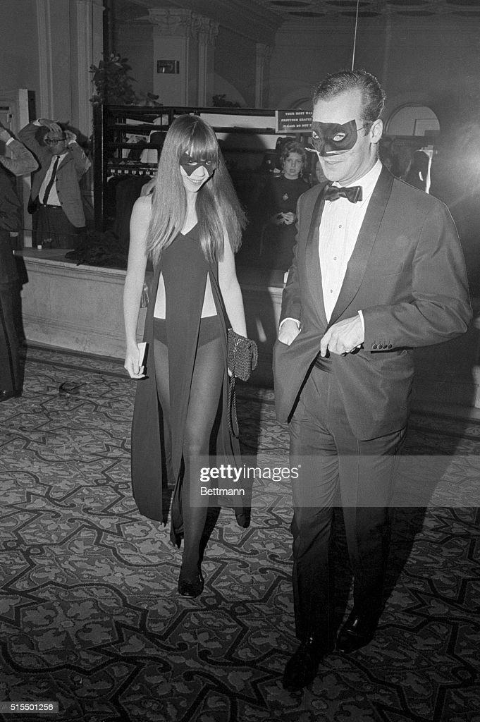 Model Penelope Tree Attending Costume Ball : News Photo