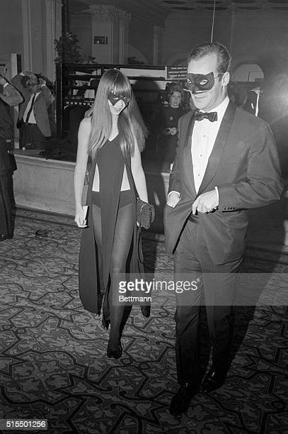 Penelope Tree took author Truman Capote at his word and wore a black dress with matching mask to his Black and White Ball at New York's swanky Plaza...
