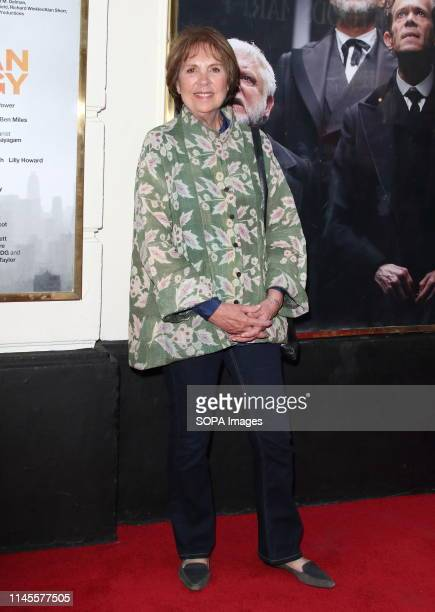 Penelope Wilton at The Lehman Trilogy Press Night at the Piccadilly Theatre Piccadilly Circus