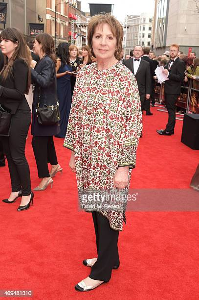 Penelope Wilton attends The Olivier Awards at The Royal Opera House on April 12 2015 in London England