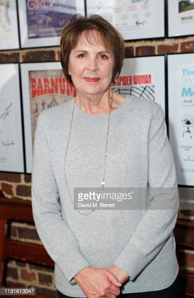 Penelope Wilton attends the press night after party for 'The Bay At Nice' at The Menier Chocolate Factory on March 19 2019 in London England
