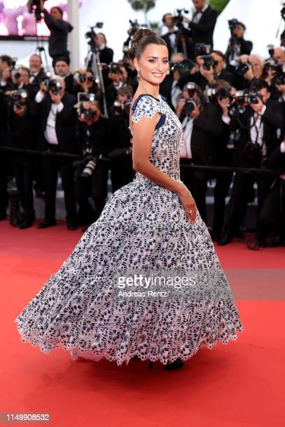 Penelpope Cruz attends the screening of Pain And Glory during the 72nd annual Cannes Film Festival on May 17 2019 in Cannes France