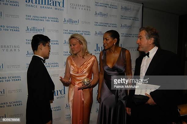 Peng Peng Muffie Potter Aston Grace Hightower and Robert DeNiro attend The JUILLIARD Centennial Gala Live at Lincoln Center at The Juilliard School...
