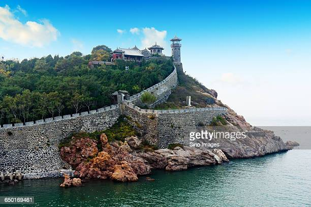penglai scenic area in shandong - shandong province stock pictures, royalty-free photos & images