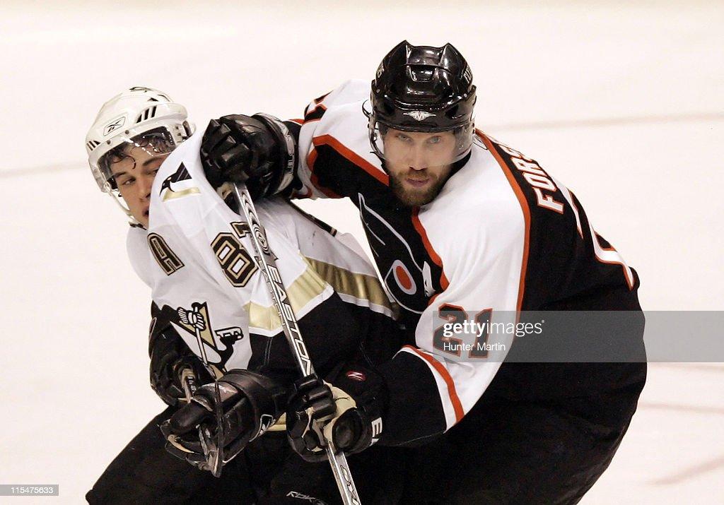 Pittsburgh Penguins vs Philadelphia Flyers - January 23, 2006
