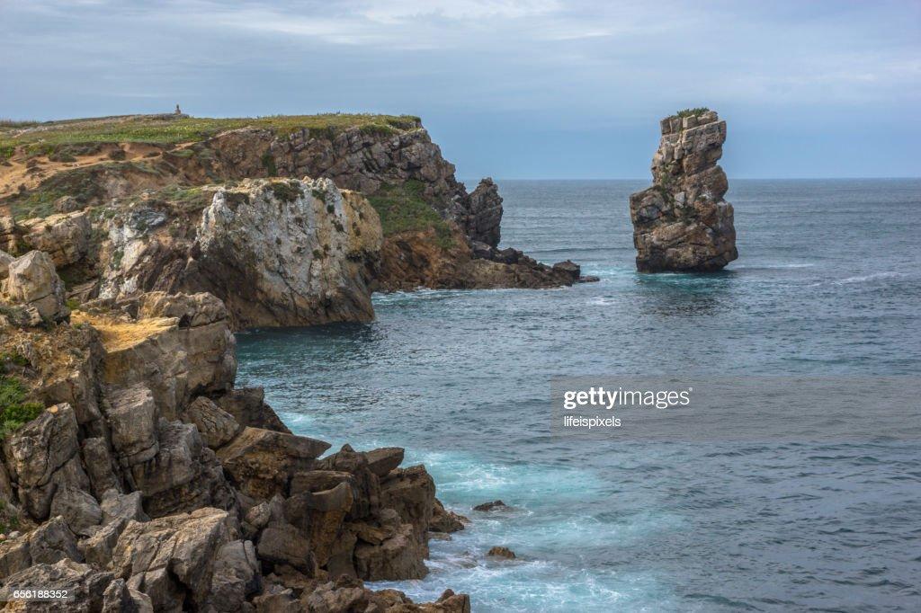 Peniche Coastline, Portugal : Stock Photo