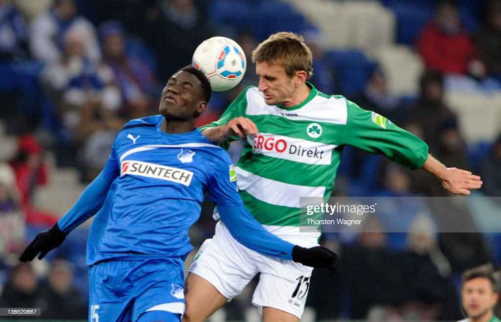 1899 Hoffenheim v SpVgg Greuther Fuerth - DFB Cup