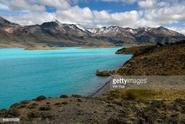 Peninsula and Lake Belgrano Perito Moreno National Park Southern Andean Patagonia Santa Cruz Argentina