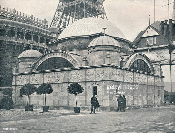'Peninsular and Oriental Pavilion ' c1900The 'Peninsular and Oriental Pavilion' of the 'Exposition Universelle' of 1889 By T E Collcutt Architect and...