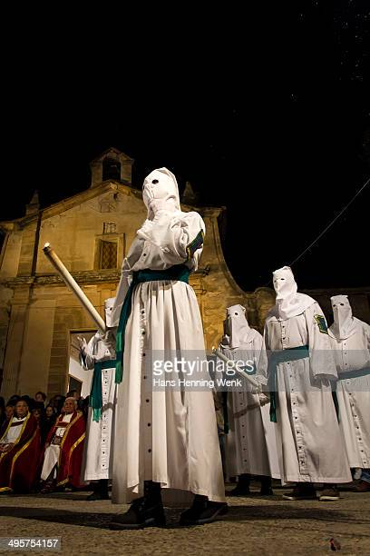 CONTENT] Penitents at the Easter procession in Pollenca on mediterranean Island Mallorca The processions during the Semana Santa are popular for...