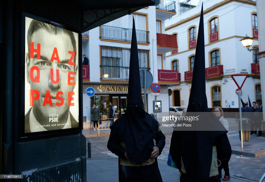Easter Processions In Seville : News Photo