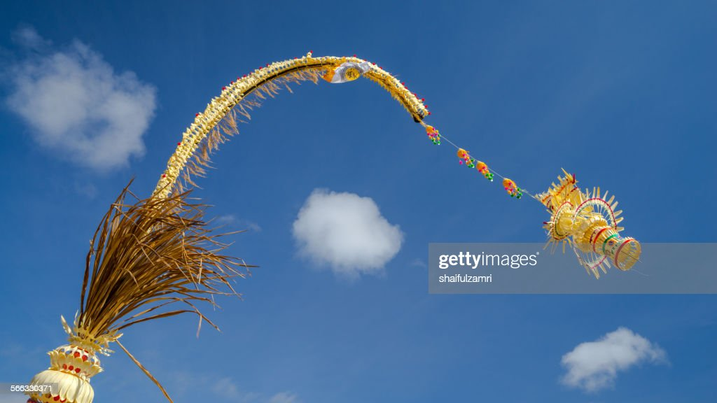 Penjor from Bali : Stock Photo