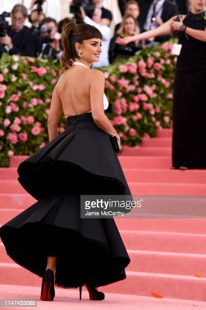 Penélope Cruz attends The 2019 Met Gala Celebrating Camp Notes on Fashion at Metropolitan Museum of Art on May 06 2019 in New York City