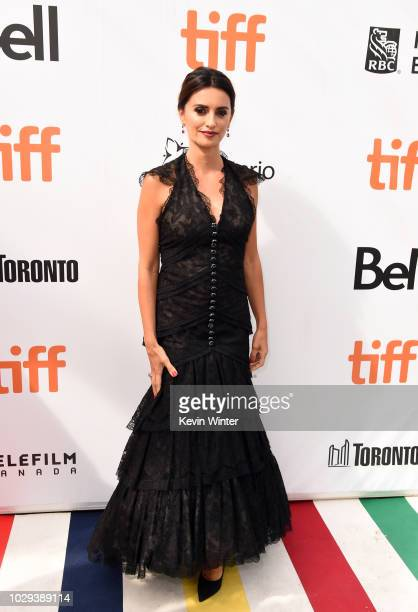 Penélope Cruz attends the Everybody Knows premiere during 2018 Toronto International Film Festival at Roy Thomson Hall on September 8 2018 in Toronto...